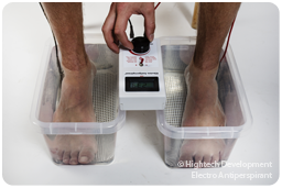 How Iontophoresis Removes Excessive Sweating of Feet